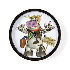 Billy Bull Wall Clock