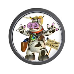 Billy Bull Wall Clock