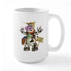 Billy Bull Large Mug