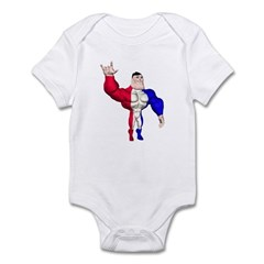 Alpha Man Infant Bodysuit