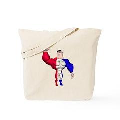Alpha Man Tote Bag
