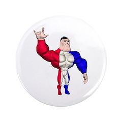 """Alpha Man 3.5"""" Button"""