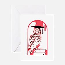 Smart Owl 3 Greeting Card