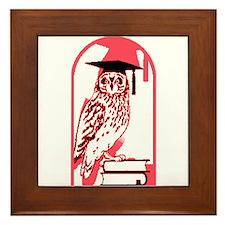Smart Owl 3 Framed Tile