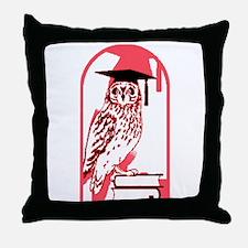 Smart Owl 3 Throw Pillow