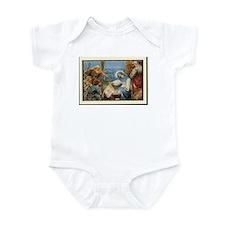Birth of Jesus Infant Bodysuit