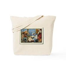 Birth of Jesus Tote Bag