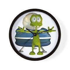 Al Alien Wall Clock