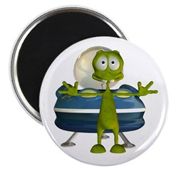 Al Alien Magnet