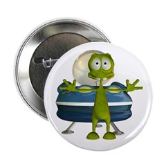 "Al Alien 2.25"" Button"