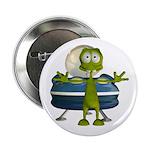"""Al Alien 2.25"""" Button"""