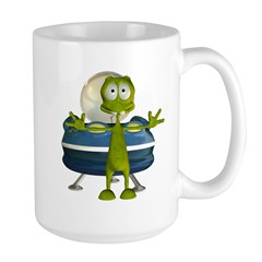 Al Alien Large Mug