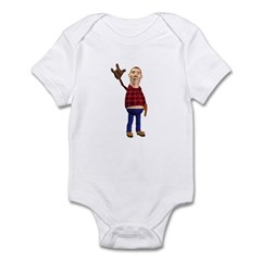 Barney Infant Bodysuit