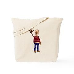 Barney Tote Bag