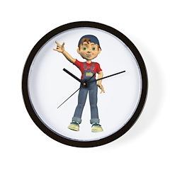 Dennis Wall Clock