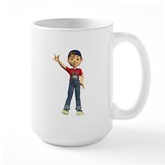 Dennis Large Mug