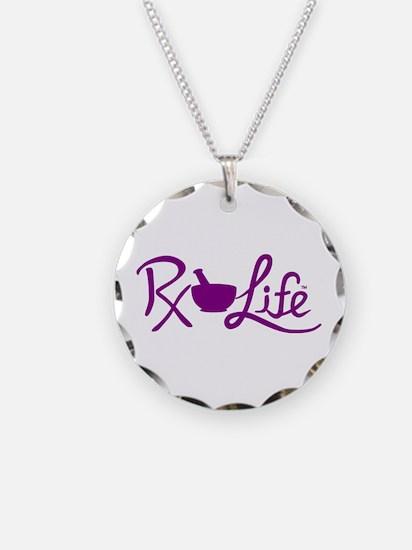 Purple Rx Life Necklace