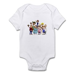 Family Portrait Infant Bodysuit