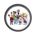 Family Portrait Wall Clock