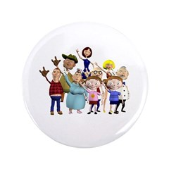 "Family Portrait 3.5"" Button"