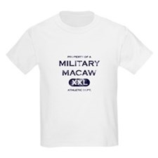 Property of Military Macaw T-Shirt