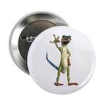 """Mr. Gecko 2.25"""" Button"""