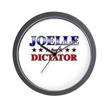 JOELLE for dictator Wall Clock