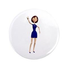 """Minnie 3.5"""" Button"""