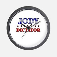 JODY for dictator Wall Clock