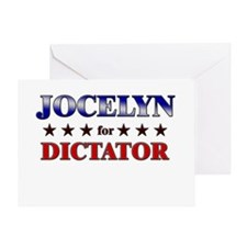 JOCELYN for dictator Greeting Card