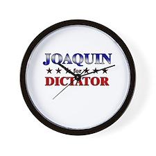 JOAQUIN for dictator Wall Clock