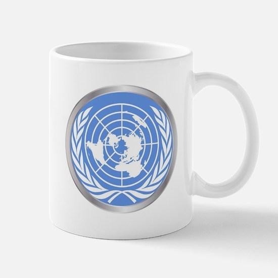 United Nations Emblem Mugs