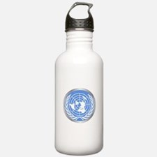 United Nations Emblem Water Bottle
