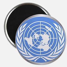 United Nations Emblem Magnets