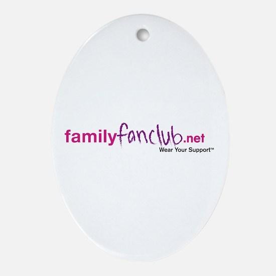 Triathlon Mommy Oval Ornament