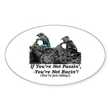 """""""Passin"""" Oval Decal"""