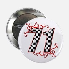"""RaceFashion.com 71 2.25"""" Button"""