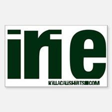 Irie KillaCali Rectangle Decal
