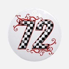 RaceFashion.com 72 Ornament (Round)