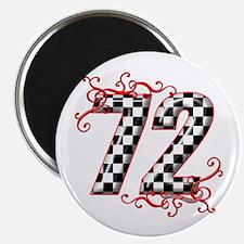 RaceFashion.com 72 Magnet