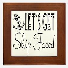 Funny Ship Framed Tile