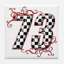 RaceFashion.com 73 Tile Coaster