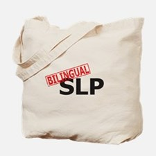 Bilingual Speech Therapist Tote Bag