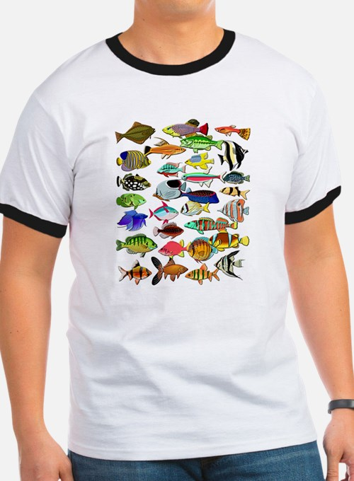 Saltwater fish t shirts shirts tees custom saltwater for Saltwater fishing clothes