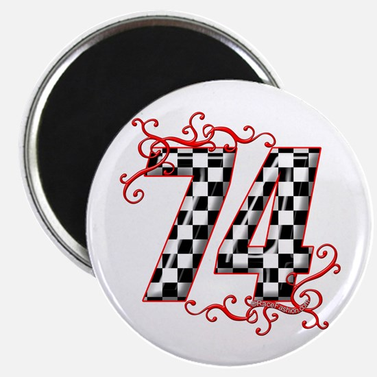 RaceFashion.com 74 Magnet