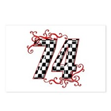 RaceFashion.com 74 Postcards (Package of 8)