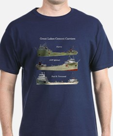 Cement Carriers On The Great Lakes T-Shirt