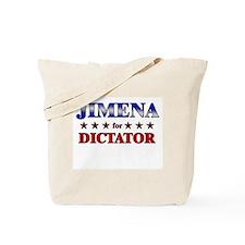 JIMENA for dictator Tote Bag