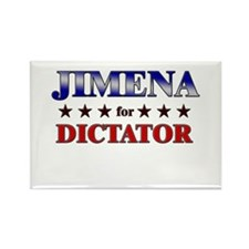 JIMENA for dictator Rectangle Magnet