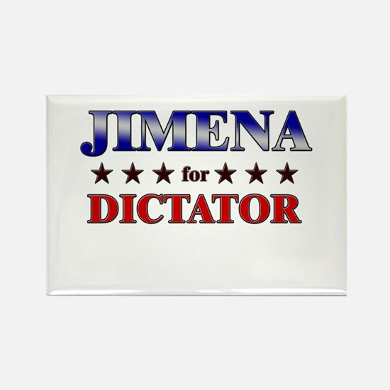 JIMENA for dictator Rectangle Magnet